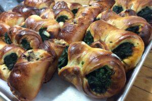 Cartocciate w/Spinach