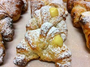 Custard Cream Croissant