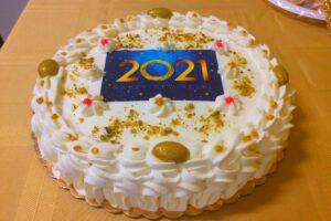 New Year Rum Cake