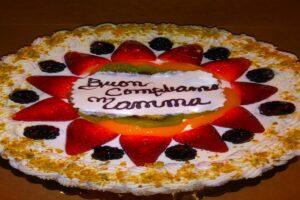 Fruit Rum Cake
