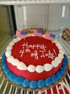Independence Day Rum Cake
